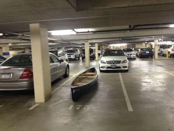 Funny and positive images, pictures, parking, cars, boat
