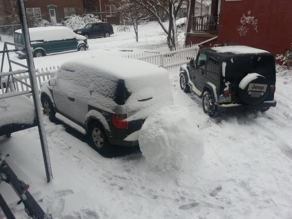 Funny, positive, fun, pictures, cars, snow
