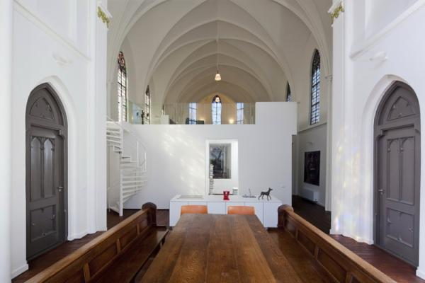 House with religious overtones, interior, design, image