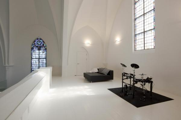House with religious overtones, interior, design, photography