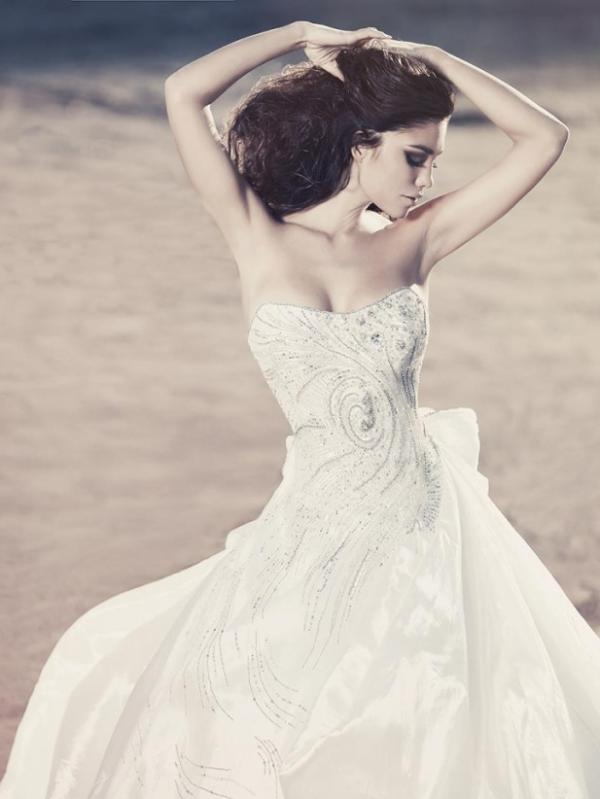 Julia Kontogruni, wedding dress, fashion, lady, beauty