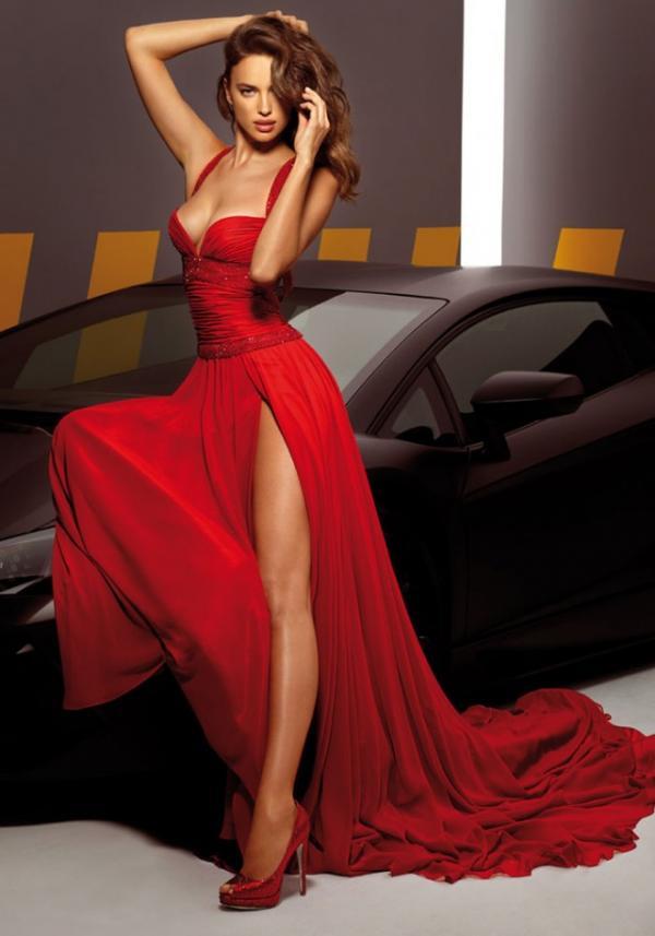 Model Irina Shayk, celebrity, dress, photography