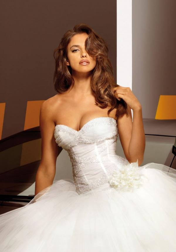 Model Irina Shayk, celebrity, dress