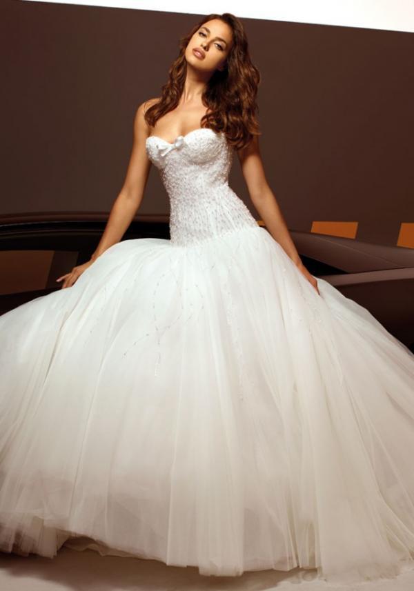 Model Irina Shayk, celebrity, gown, fashion, photo