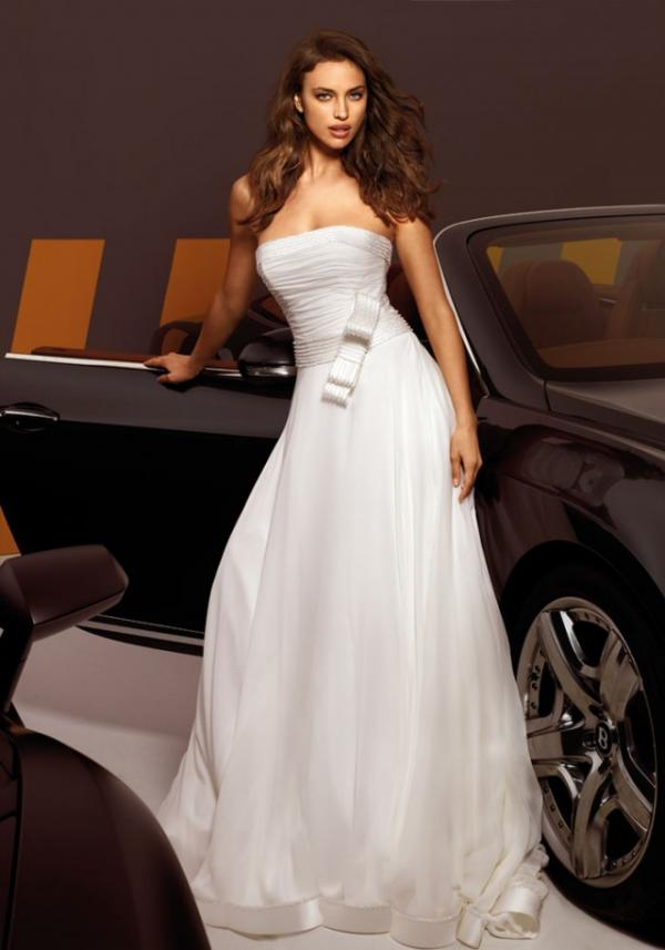 Model Irina Shayk, celebrity, gown, image
