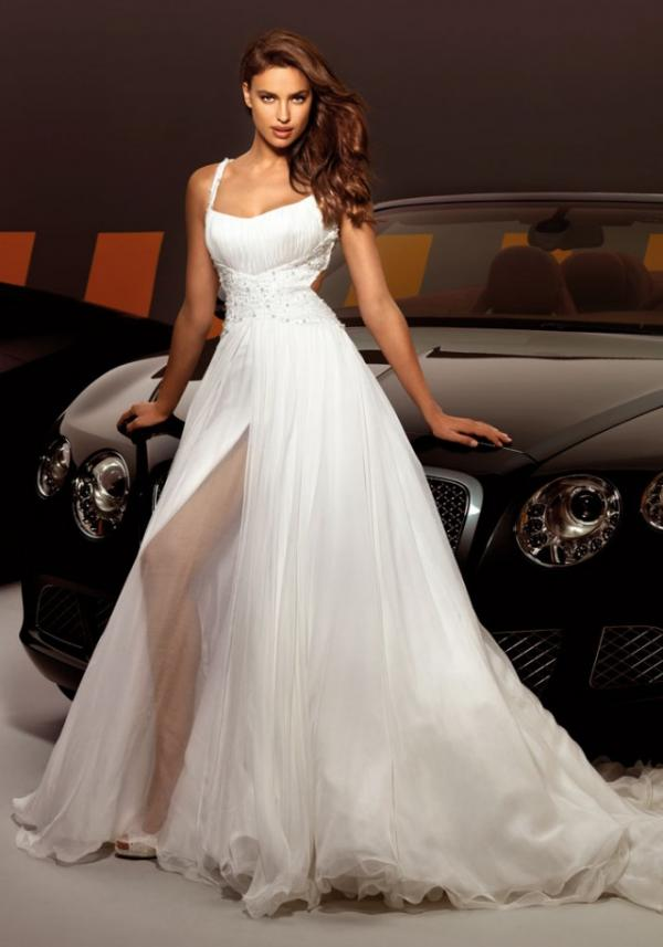 Model Irina Shayk, celebrity, gown, photo