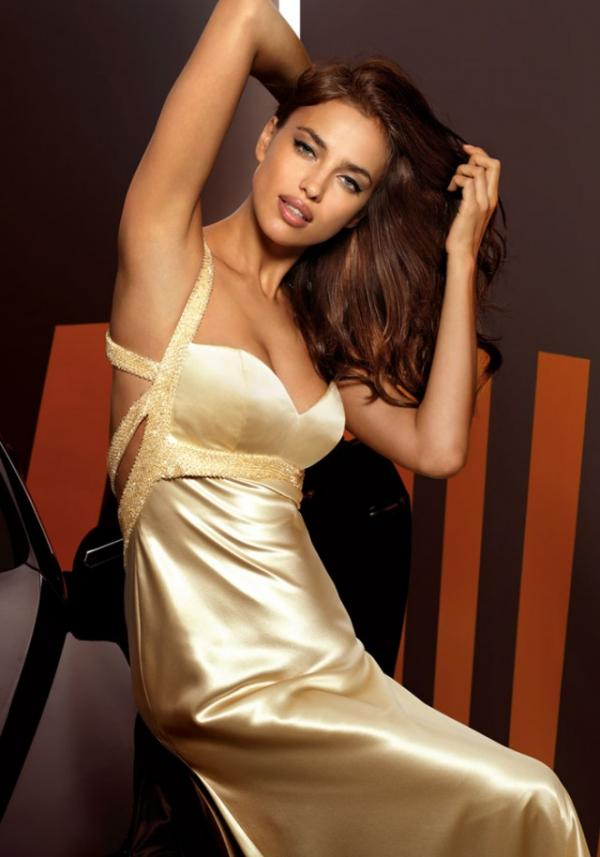 Model Irina Shayk, celebrity, gown, photography