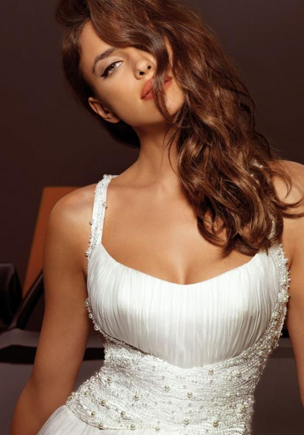 Model Irina Shayk, celebrity, gown, pics