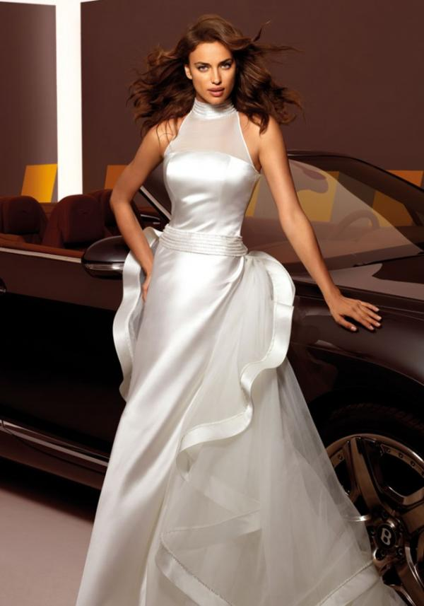 Model Irina Shayk, celebrity, gown, picture