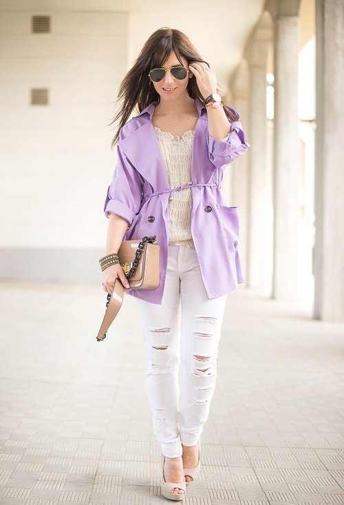Ripped women jeans, fashion, outfits, woman, photo