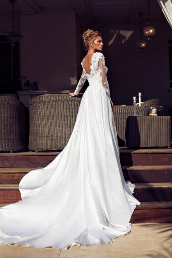 White wedding dress, fashion, beauty, girl, pics
