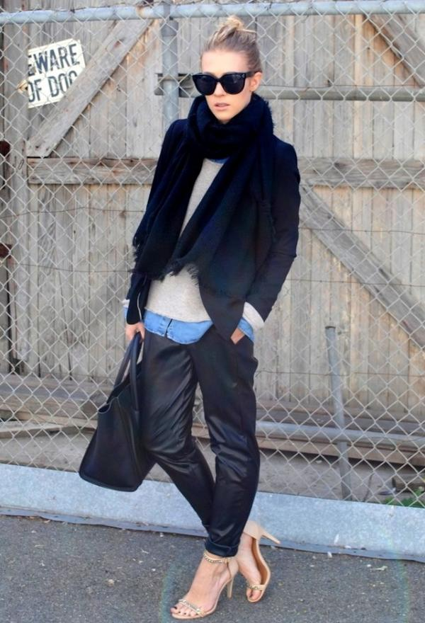 Winter street style, women fashion, outfits, woman, image