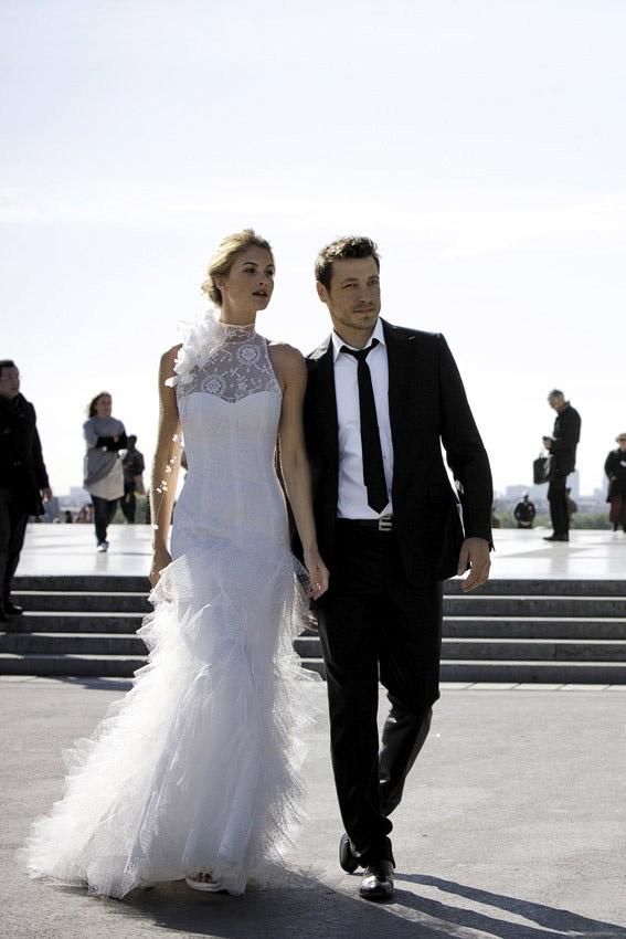 Women wedding dress, beautiful female, man