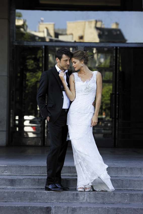 Women wedding dress, beautiful lady, man