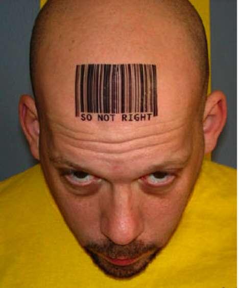 Barcode tattoo 1
