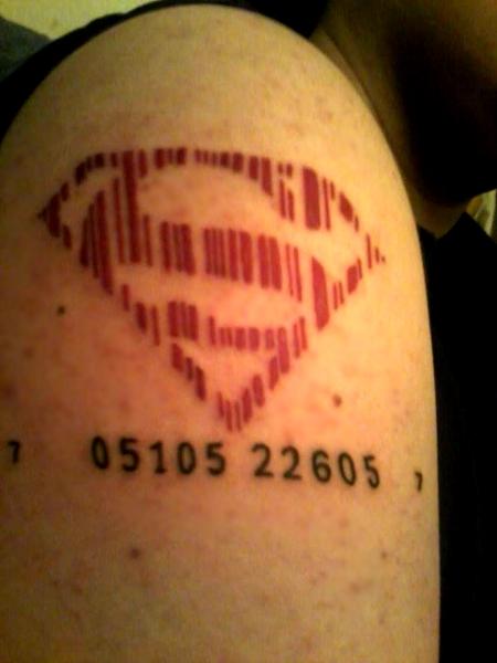 Barcode tattoo 6