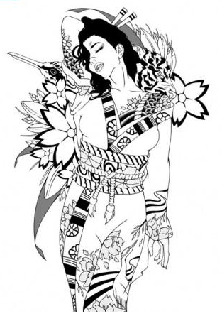 Japanese tattoo designs 4