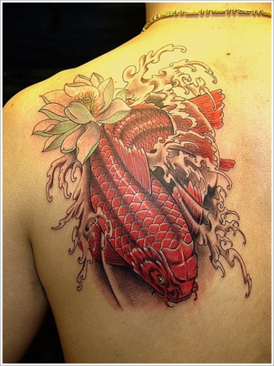 Koi tattoo designs 1