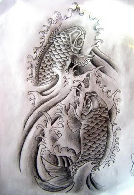 Koi tattoo designs 3