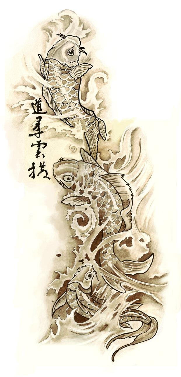 Koi tattoo designs 4