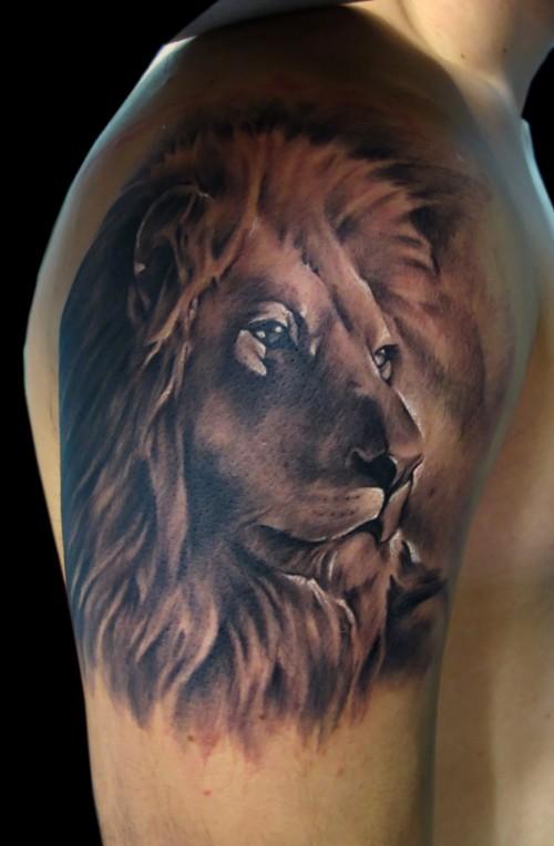 Lion tattoo designs 6