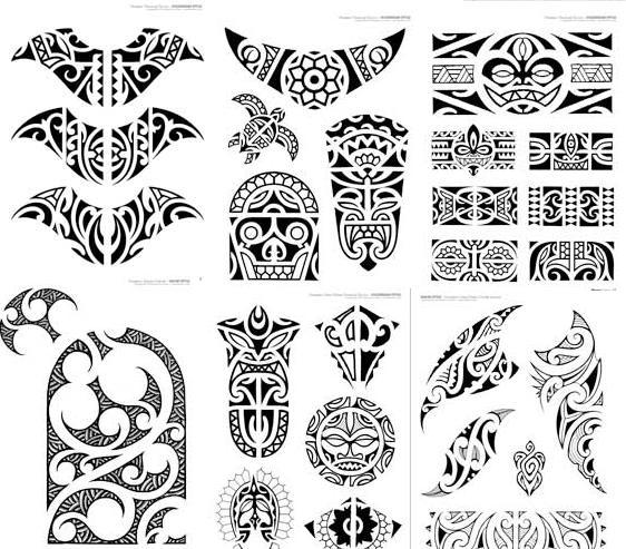 Maori tattoo designs 1