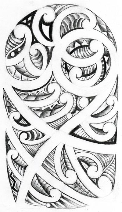 Maori tattoo designs 3