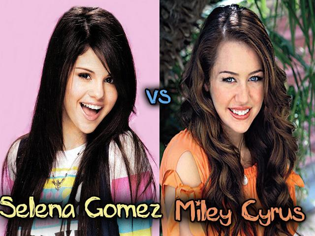 Selena Gomez and Miley Cyrus 2