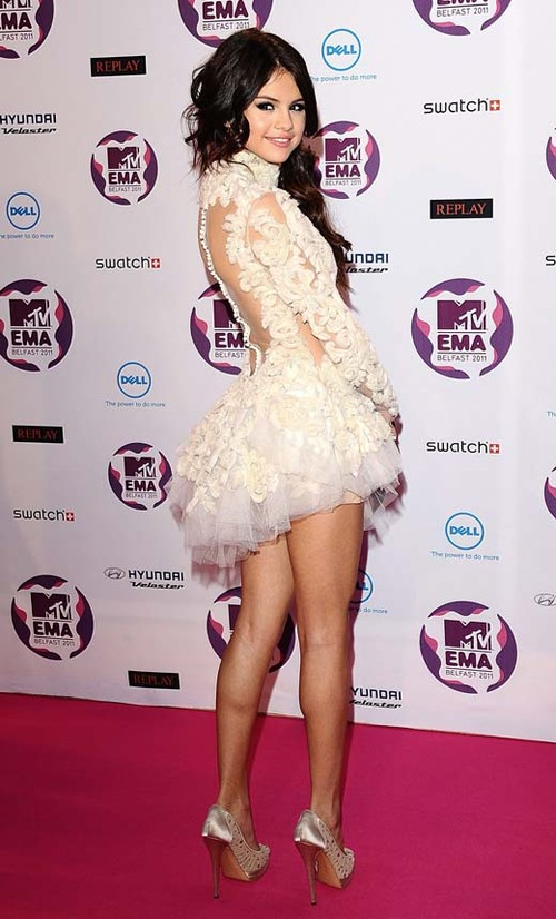 Selena Gomez at MTV EMA in Belfast