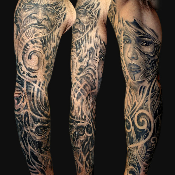 Tattoo sleeve ideas 4