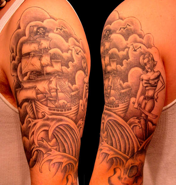 Tattoo sleeve ideas 6