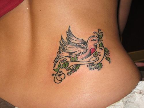 dove tattoo designs 4