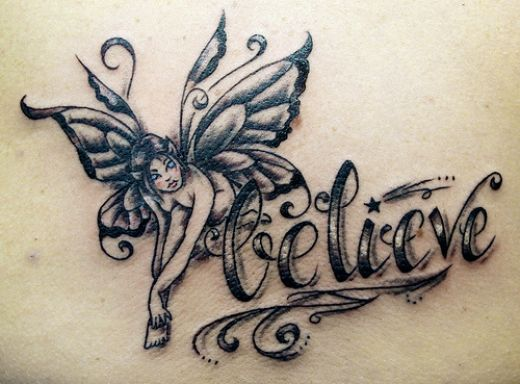 fairy tattoo designs 4