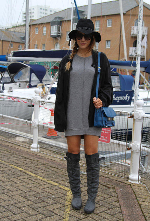 Fashionable street style, outfits, hat, lady, pics