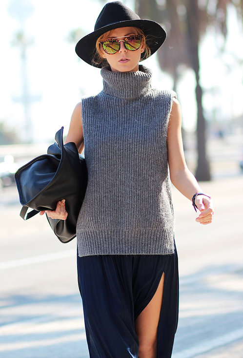 Fashionable street style, outfits, trendy hat, woman, picture