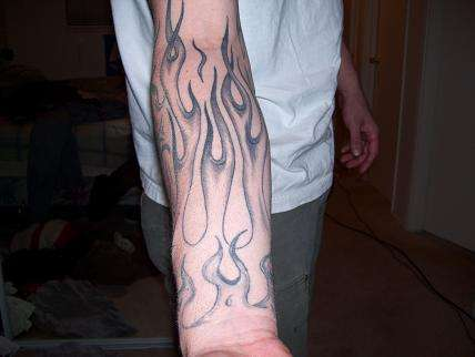 flame tattoo 1
