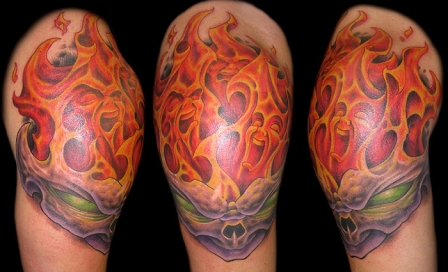 flame tattoo 5