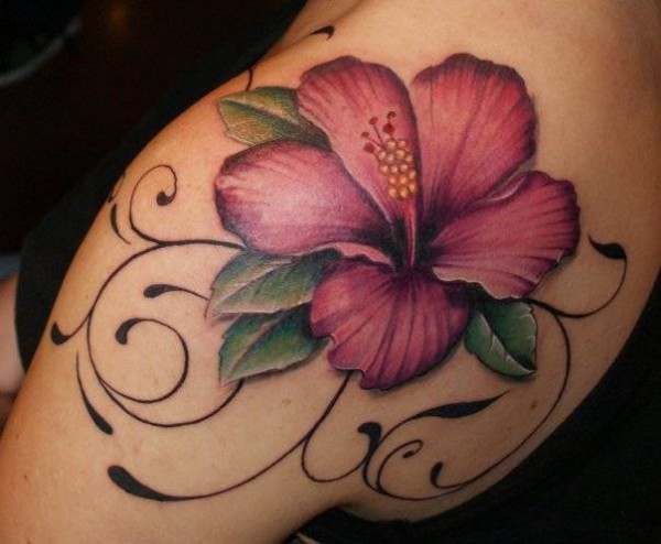 flowers tattoo 1