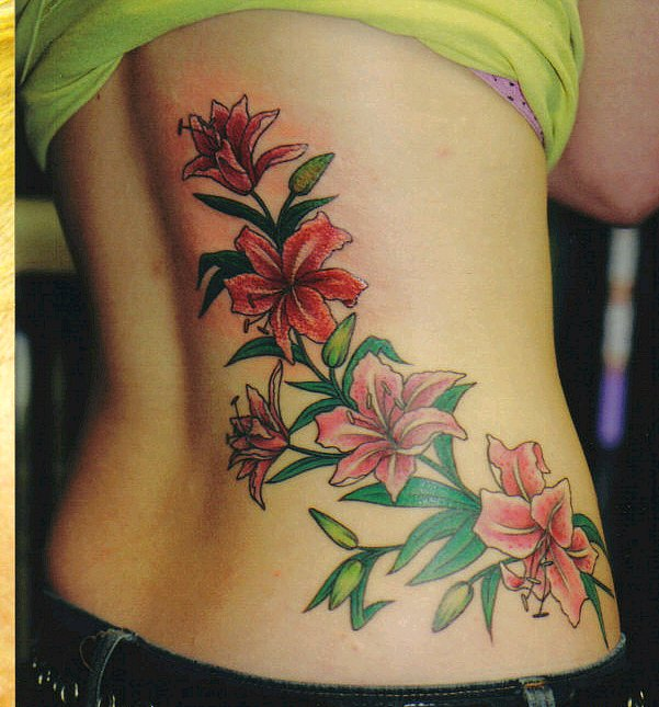 flowers tattoo 5
