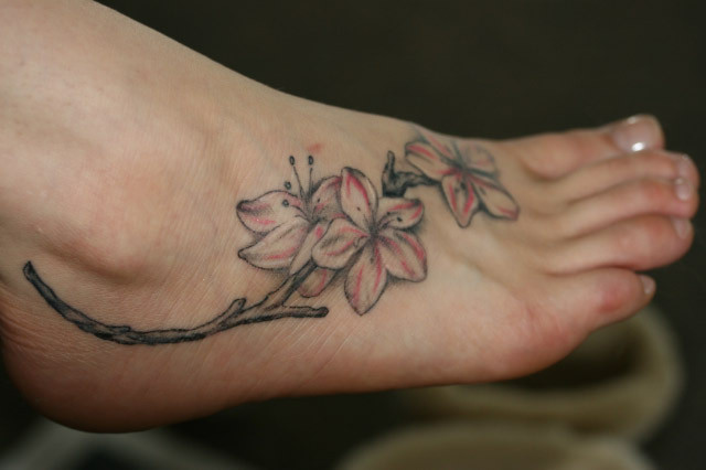foot tattoo designs 5