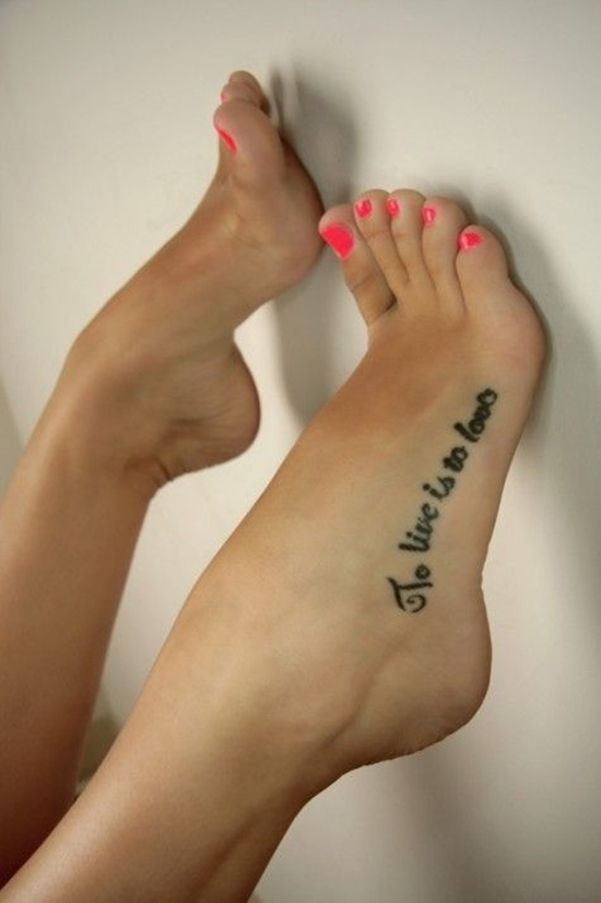 foot tattoo designs 6