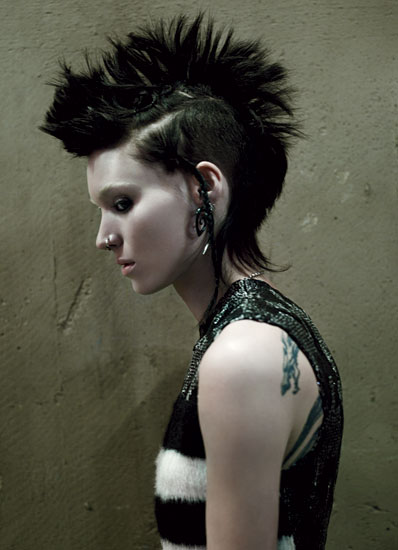 girl dragon tattoo 2