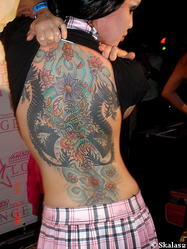 girl dragon tattoo 4
