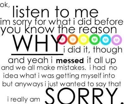 im sorry quotes 2