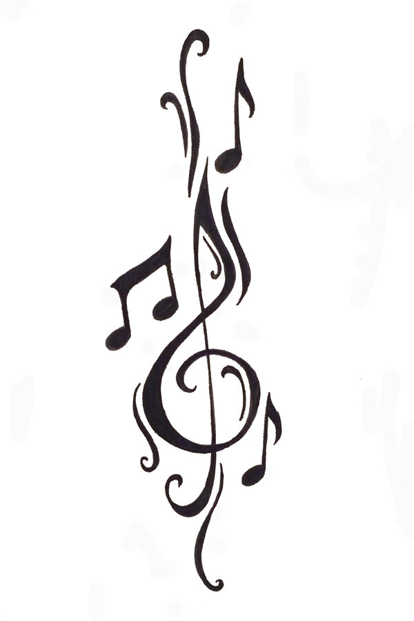 music tattoo designs 6