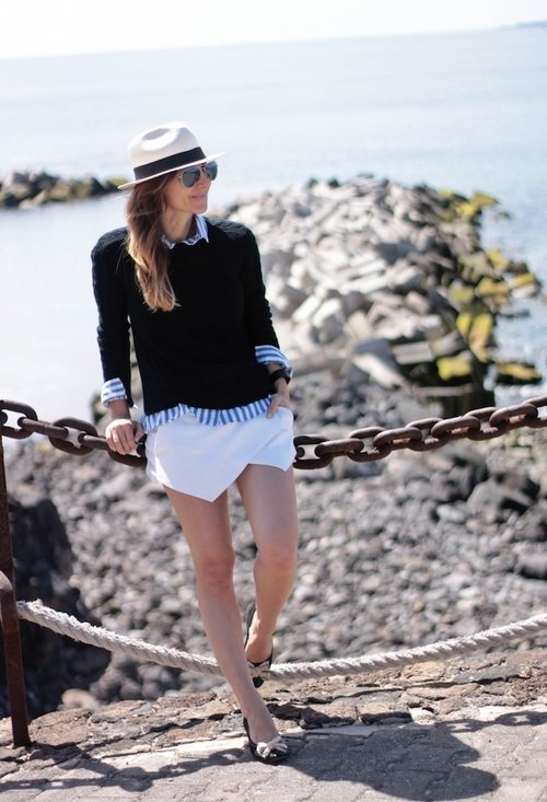 Nice model, trendy hat, fashion, outfits, woman, image