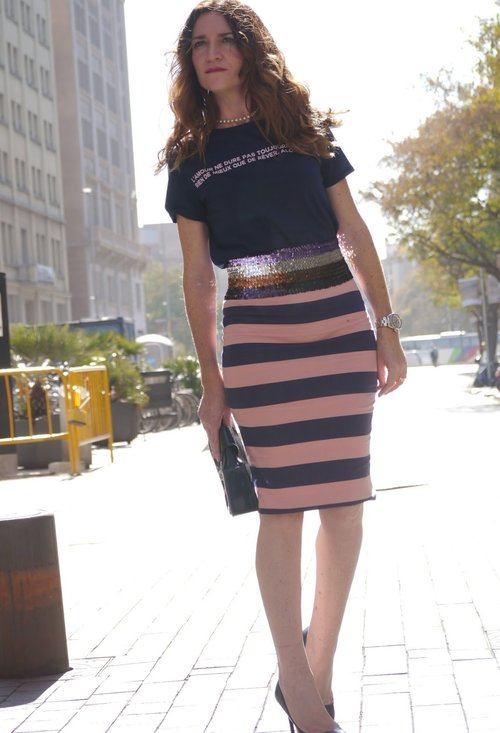 Pencil skirt, fashion, style, outfits, girl, photo