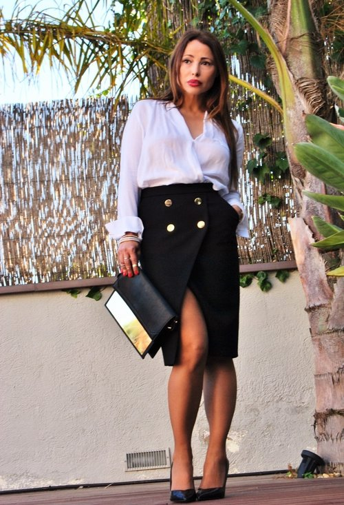 Pencil skirt, fashion, style, outfits, lady, image