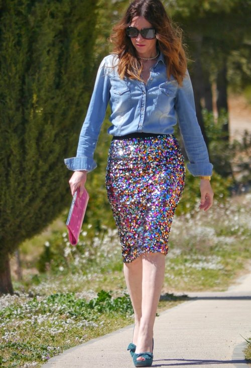 Pencil skirt, fashion, style, outfits, lady, photo