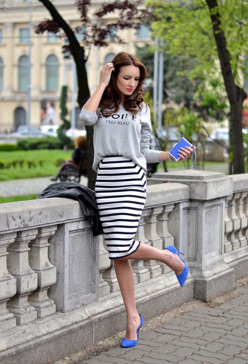 Pencil skirt, fashion, style, outfits, woman, photo